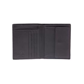 Бумажник KLONDIKE Claim, натуральная кожа в коричневом цвете, 10×1,5×12 см