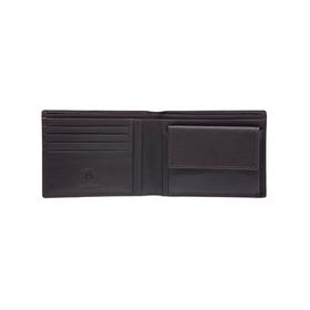 Бумажник KLONDIKE Claim, натуральная кожа в коричневом цвете, 12×2×9,5 см