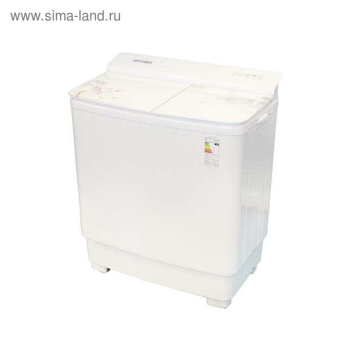 """Стиральная машина OPTIMA МСП-62СТ, полуавтомат, 6.2кг/5.5 кг, насос, """"розовый лотос"""""""