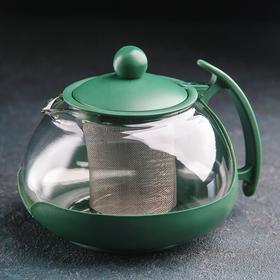 Чайник заварочный «Фантазия», 750 мл, цвет МИКС Ош