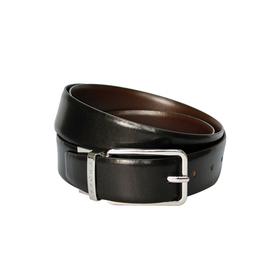 Ремень Cross Santiago, двухсторонний, кожа наппа гладкая, цвет чёрный/коричневый, 126×3,5 см   45615