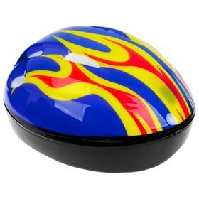 Шлем защитный детский OT-H6, размер S, 52-54 см, цвет синий Ош