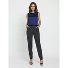 Блузка женская, размер 50, цвет синий - Фото 1