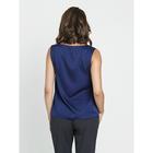 Блузка женская, размер 50, цвет синий - Фото 5