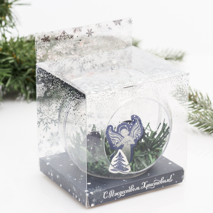Рождественский шар на ёлку Ангел