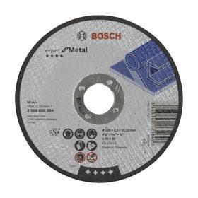 Круг отрезной Bosch Expert 2608600394, по металлу, 125х2.5 мм, прямой