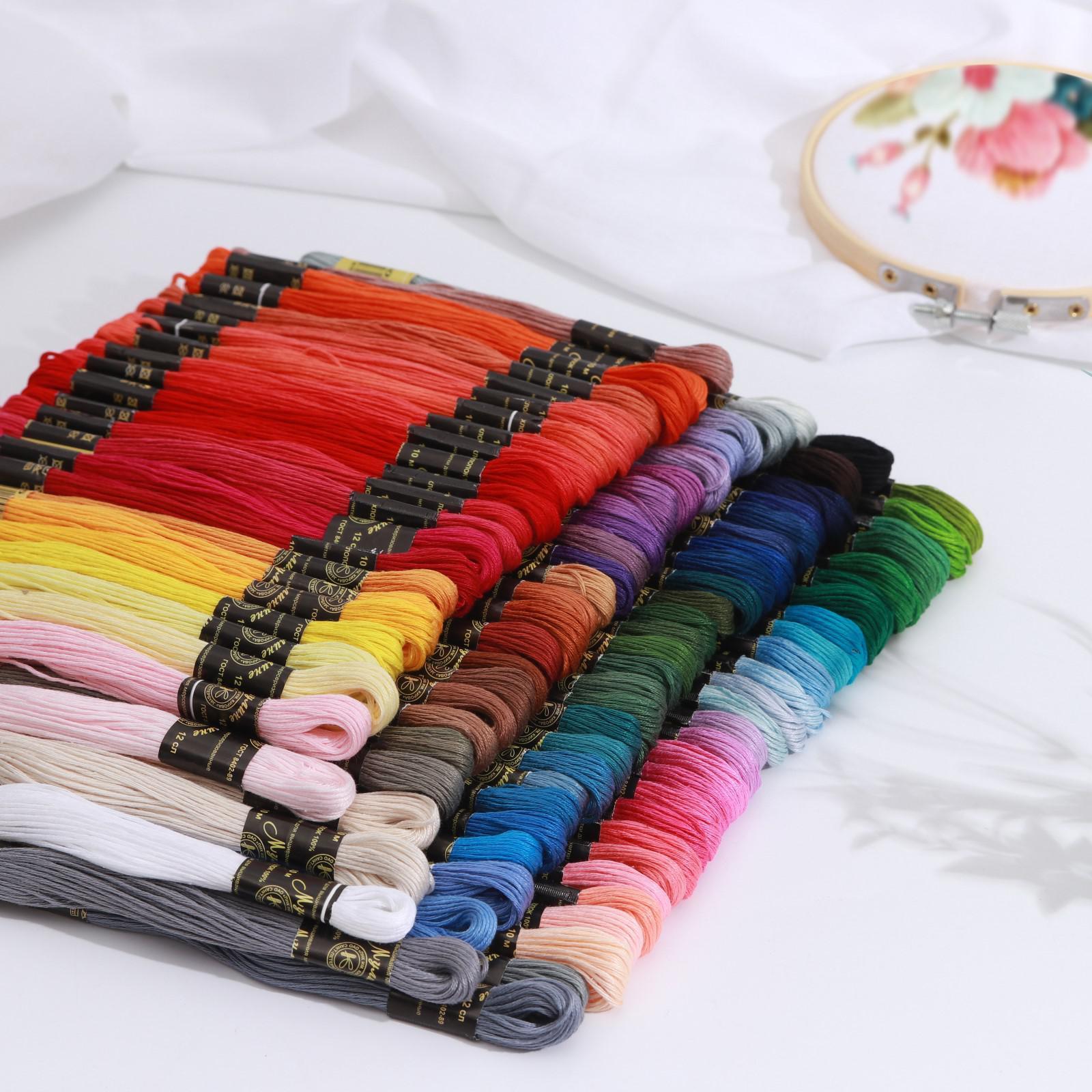 Мулине петербурженка карта цветов ткань бечевка купить