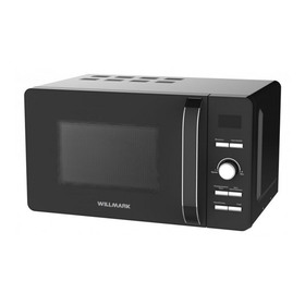 Микроволновая печь Willmark WMO-291DH, 700 Вт, 20 л, гриль, чёрная