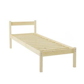 Односпальная кровать «Т1», 800х1900, цвет сосна Ош