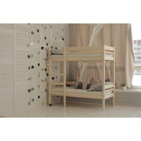 Детская двухъярусная кровать «Дональд», 80 × 200 см, цвет сосна Ош