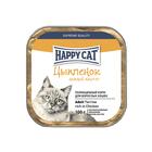 Влажный корм Happy Cat для кошек, паштет, цыпленок, 100 г