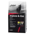 Сухой корм Golosi Adult для кошек, говядина/рис, 400 г