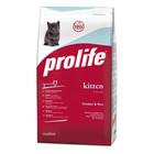 Сухой корм ProLife Kitten, курица/рис, 1,5 кг