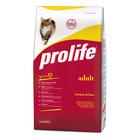 Сухой корм ProLife для кошек, курица/рис, 1,5 кг