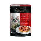 Влажный корм Edel Cat нежные кусочки в соусе, печень/кролик, 100 г