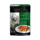 Влажный корм Edel Cat нежные кусочки в соусе, утка/кролик, 100 г