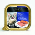 Влажный корм Edel Cat нежный паштет, лосось/форель, 100 г