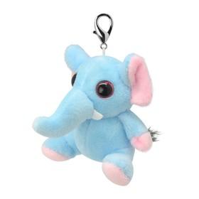 Мягкая игрушка «Брелок Слоненок», 8 см