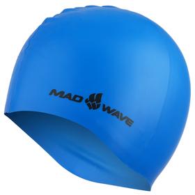 Силиконовая шапочка LIGHT, M0535 03 0 03W, синий