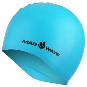 Силиконовая шапочка LIGHT, M0535 03 0 08W, лазурно-голубой
