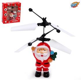 Супербол «Дед Мороз», летает, работает от аккумулятора, заряжается от USB Ош