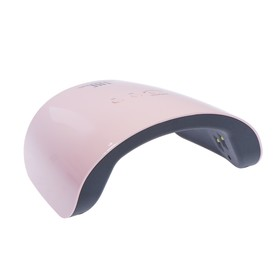 Лампа для гель-лака TNL Spark, UV/LED, 24 Вт, 12 диодов, таймер 30/60/99 с, розовая