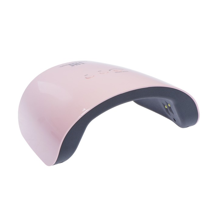 Лампа для гель-лака TNL Spark, UV/LED, 24 Вт, 12 диодов, таймер 30/60/99 сек, розовая