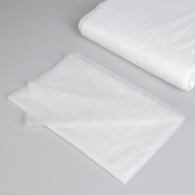 Простыня одноразовая, плотность 15 г/м2, SMS, 70 × 160 см, цвет белый