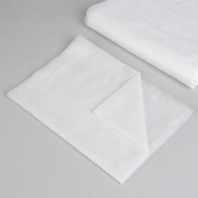 Простыня одноразовая, плотность 12 г/м2, спанбонд, 70 × 200 см, цвет белый