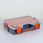 """Органайзер Boombox 18""""/46 см, цвет серо-свинцовый/оранжевый"""