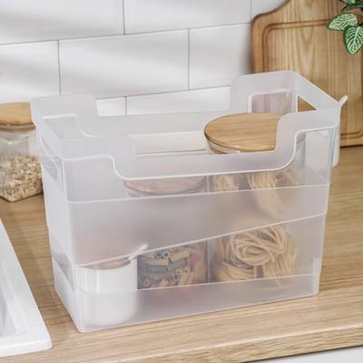 Контейнер хозяйственный BranQ 10,5 л, 34×16×25 см, цвет прозрачный