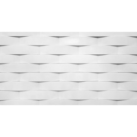 Гипсовая плитка «Париж», 0,33 кв.м, цвет белый Ош