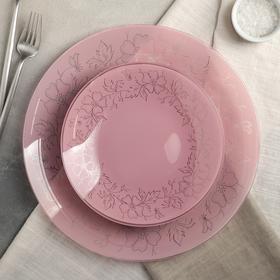 Сервиз столовый «Лара», 7 предметов: 6 тарелок d=20 см, 1 тарелка d=30 см