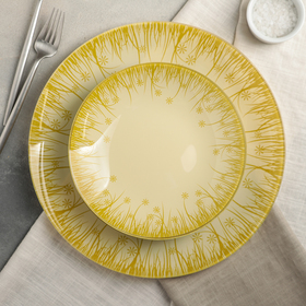 Сервиз столовый «Форест» на 6 персон: 6 тарелок d=20 см, 1 тарелка d=30 см