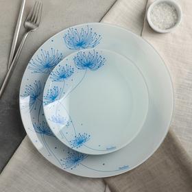 Сервиз столовый «Вивьен» на 6 персон: 6 тарелок d=20 см, 1 тарелка d=30 см