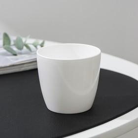 Вазон «Матильда», 175 мл, цвет белый Ош