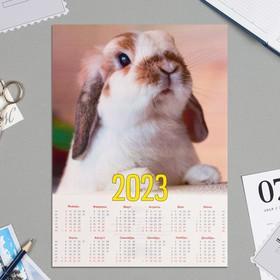 Календарь листовой А4 'Символ года - 2021 - 1' Ош