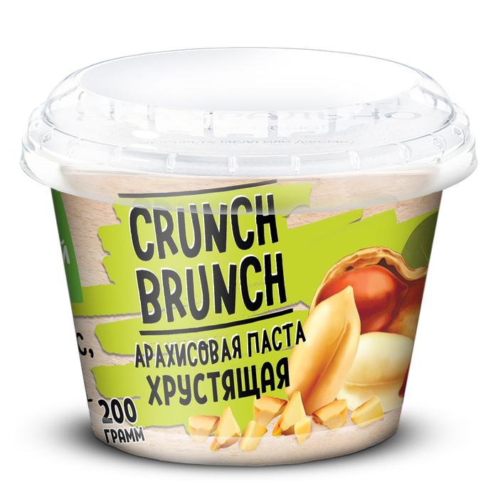 Арахисовая паста СRUNCH-BRUNCH, хрустящая, 200 г