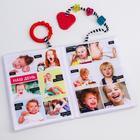 Развивающая нижка-игрушка Happy Baby «Изучаем человека», с кольцом и прорезывателем - Фото 4