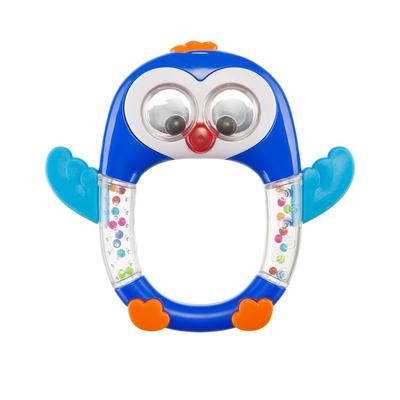 Музыкальная погремушка Happy Baby Penguin Lo-Lo, от 3 месяцев - Фото 1
