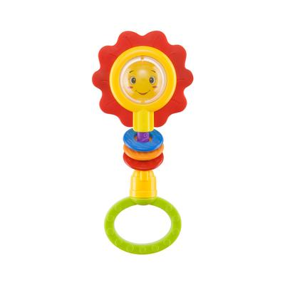 Погремушка Happy Baby Flower Twist, от 3 месяцев - Фото 1