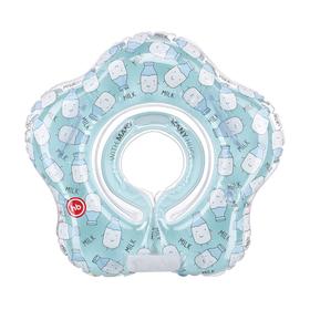 Круг для плавания Happy Baby Swimmer, 0-12 месяцев, цвет milk Ош
