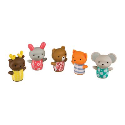 Набор игрушек на пальцы Happy Baby Little Friends, от 6 месяцев, 5 шт. - Фото 1
