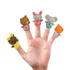 Набор игрушек на пальцы Happy Baby Little Friends, от 6 месяцев, 5 шт. - Фото 2