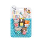 Набор игрушек на пальцы Happy Baby Little Friends, от 6 месяцев, 5 шт. - Фото 3