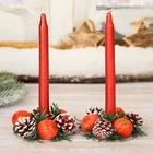 Набор свечей с подсвечником
