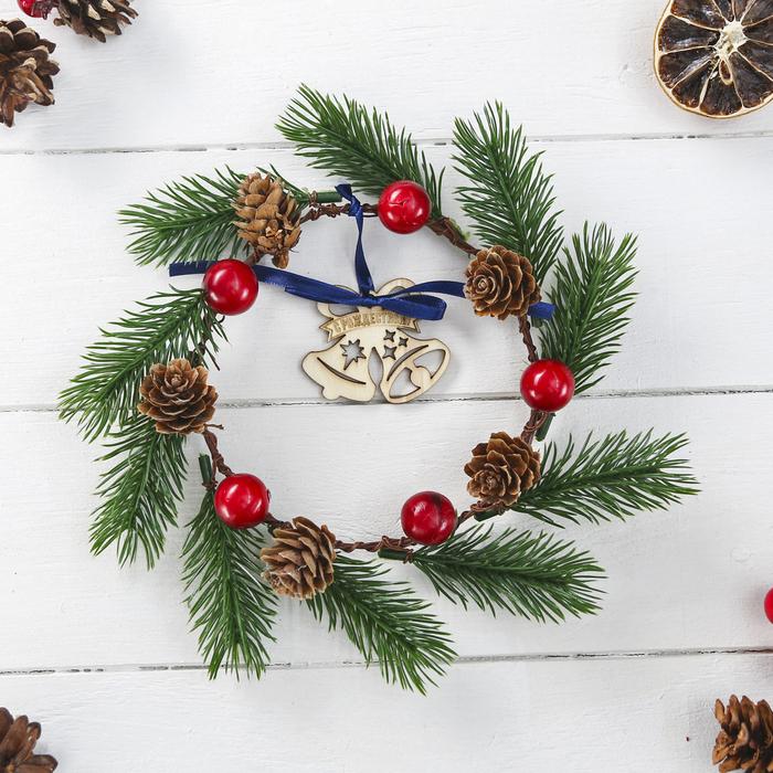 Венок рождественский Колокольчики