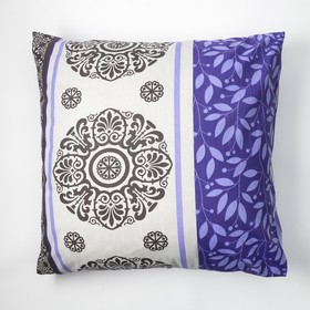 Наволочка Экономь и Я 70×70 «Нежность» цв.фиолетовый, 120 г/м², 100%хлопок, бязь