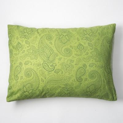 Наволочка Экономь и Я 50×70 «Огурцы» цв.зелёный, 120 г/м², 100%хлопок, бязь