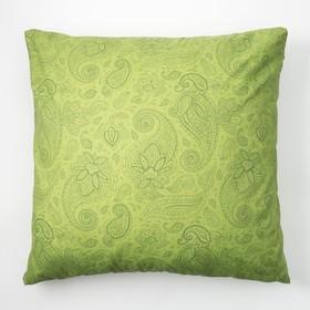 Наволочка Экономь и Я 70×70 «Огурцы» цв.зелёный, 120 г/м², 100%хлопок, бязь